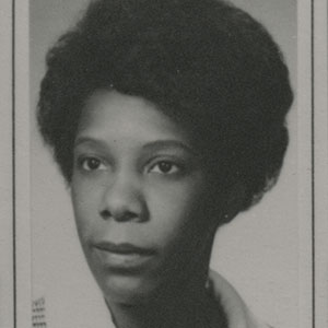 Rita Sanders Geier in 1970, courtesy of Vanderbilt University Special Collections and University Archives