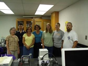 From Left to Right: Alice Thornton (Farragut), Jae Park, Jennifer Krouse (Farragut), Rosemary Calvert (Powell), Neely Tonos (Farragut), Jill Shinlever (Karns), Robert (Blue) Hand (Hardin Valley)