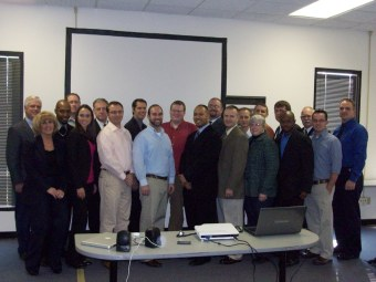 The first engineering management graduate course cohort