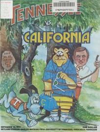 Football Program 1977