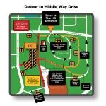 The Hill Summer 2012 Detour - Cone Zone