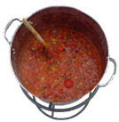 The food forecast for Nov. 1 at World's Fair Park? Chili!