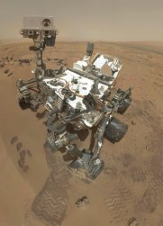 Self-portrait of Curiosity rover