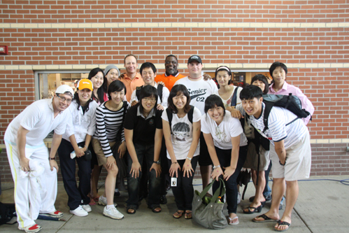 UT Sport Management Faculty Host Elite Korean Athletes