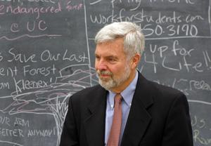 David Schumann in the classroom