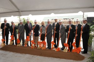 Tickle Engineering Building Groundbreaking