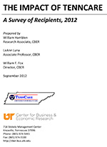 The Impact of TennCare: A Survey of Recipients 2012