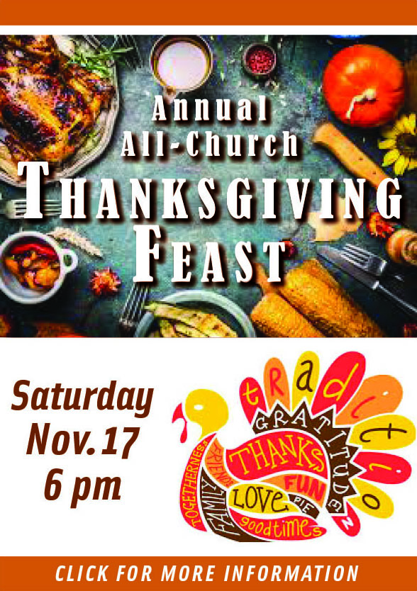 Annual All-Church Thansgiving Feast