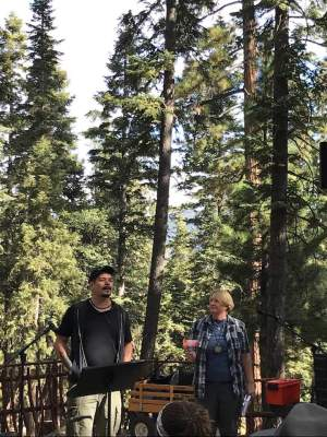 Worship in the Pines
