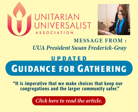 UUA Updated Guidance for Gathering