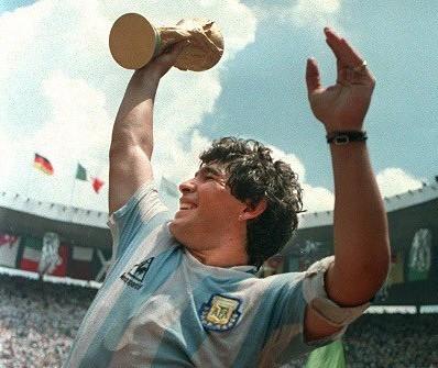 Rest easy, Maradona!