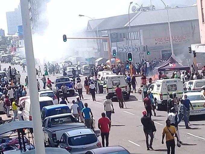 SAHRC condemns alleged xenophobic attacks in the Durban CBD