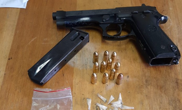 Manenberg police seize unlicensed firearm from man out on parole