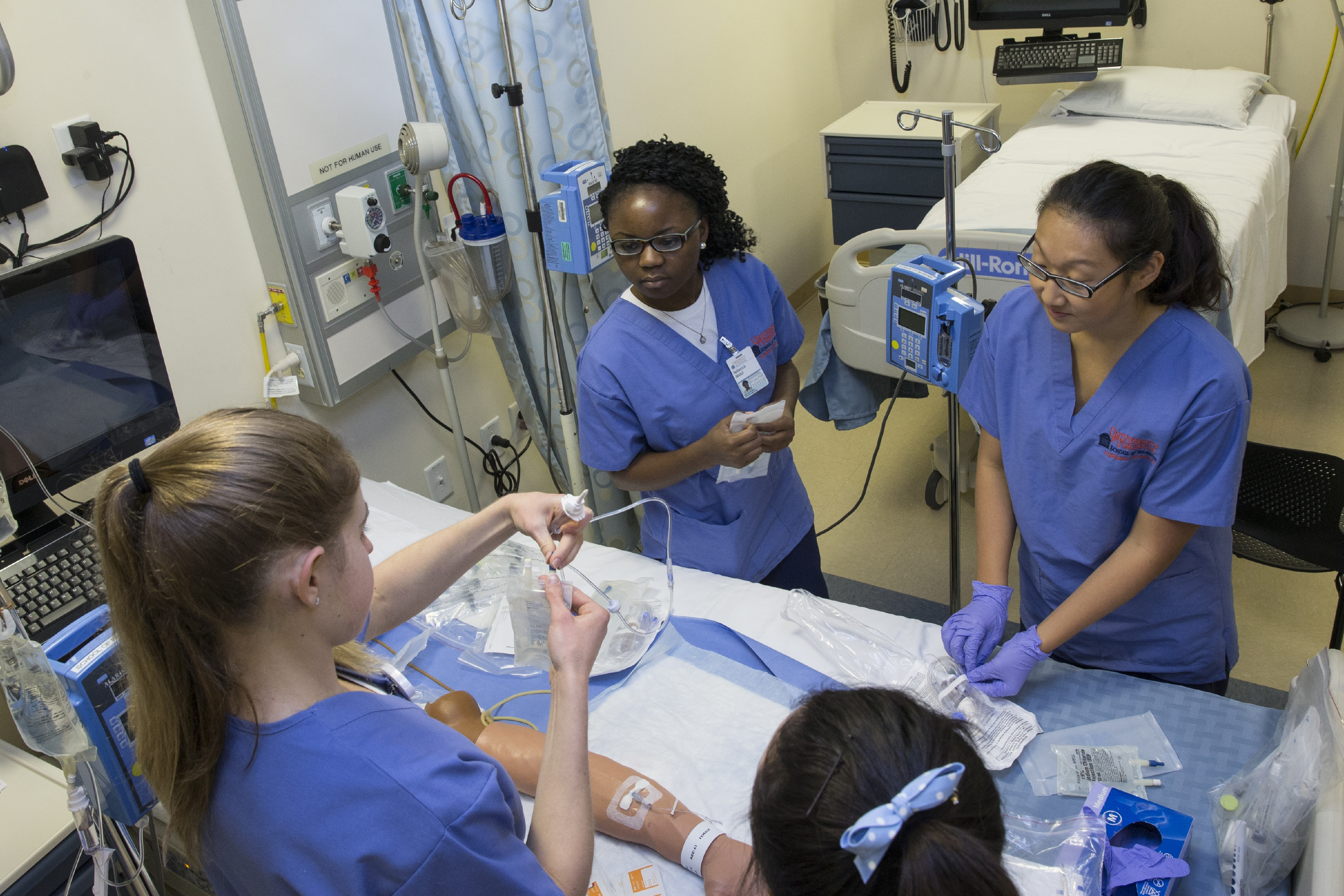 Where Practice Makes Perfect Inside Uva Nursing S Sim Lab