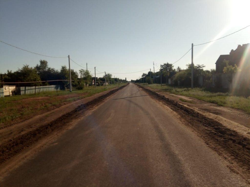завершен ремонт дорог - события в марксе