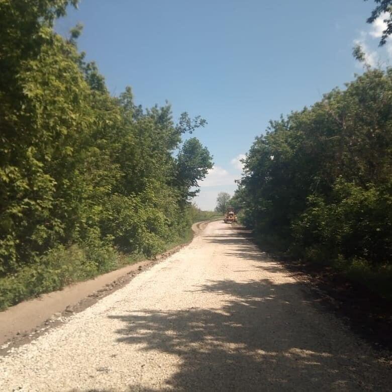 Ремонт дорог в Марксовских селах