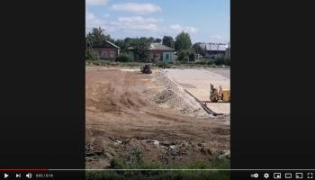 реконструкция стадиона старт в марксе
