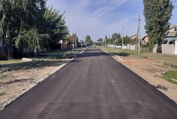 Завершены работы по ремонту автодороги в селе Сосновка - новости маркс