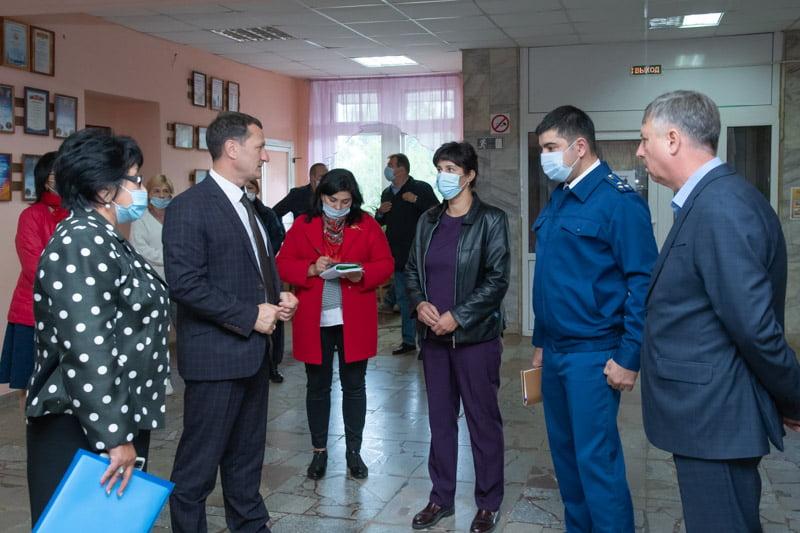 Дмитрий Романов посетил с.Звонеревка Марксовского района
