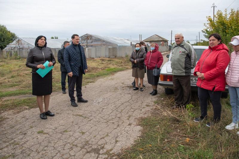 Дмитрий Романов встретился с жителями Буерака - новости марксовский район