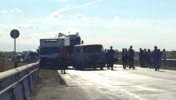 Возле Подлесного в Марксовсском районе столкнулись 4 авто - новости маркс