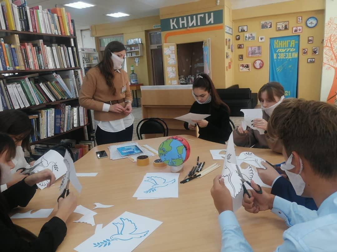 акция районной библиотеки в марксе - новости маркс