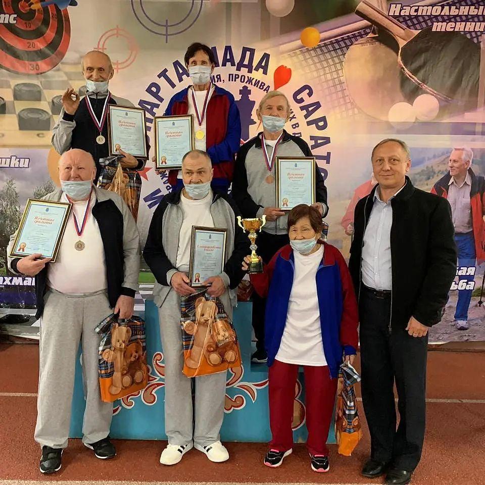 Представители Подлесновского дома-интерната выступили на областной спартакиаде