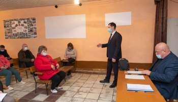 Дмитрий Романов посетил село Фурманово Марксовского района