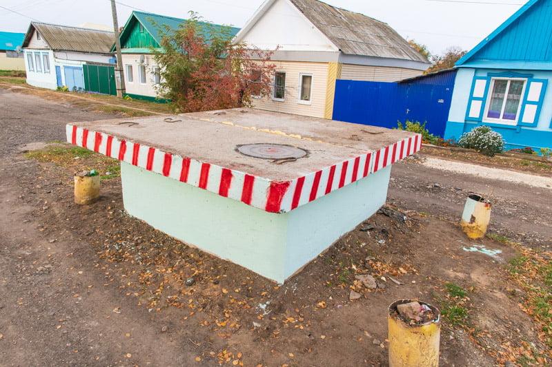 Канализационный коллектор на улице Советской отремонтирован