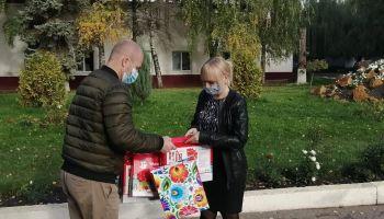 Андрей Корнеев посетил дом-интернат в Подлесном