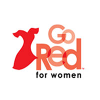 The American Heart Association's National Wear Red Day campaign, Go Red for Women Feb. 1