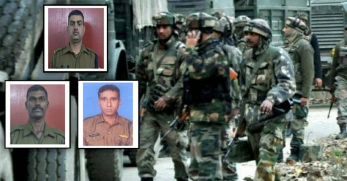 Handwara Encounter: 3 CRPF Jawaan martyred in terrorist attack
