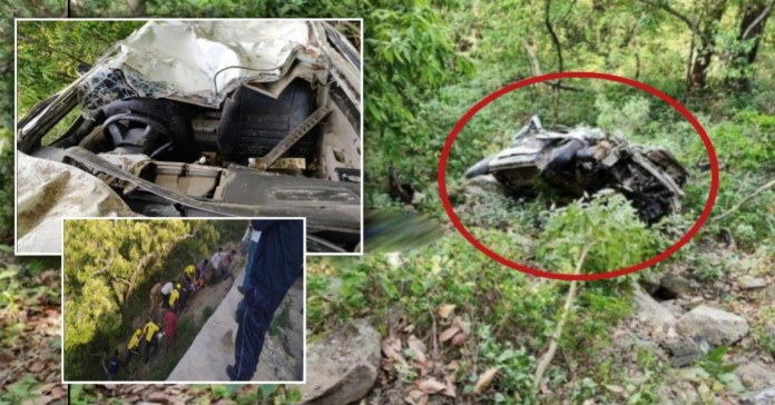 Uttarakhand Accident: 3 dead and, 2 injured after car fell into deep gorge Tankapur Champawat Highway