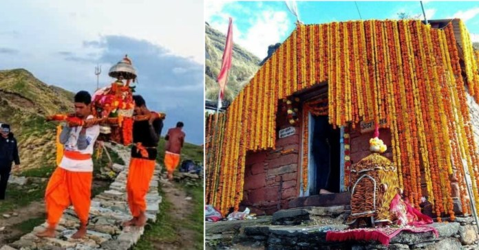 Rudranath temple Opens today