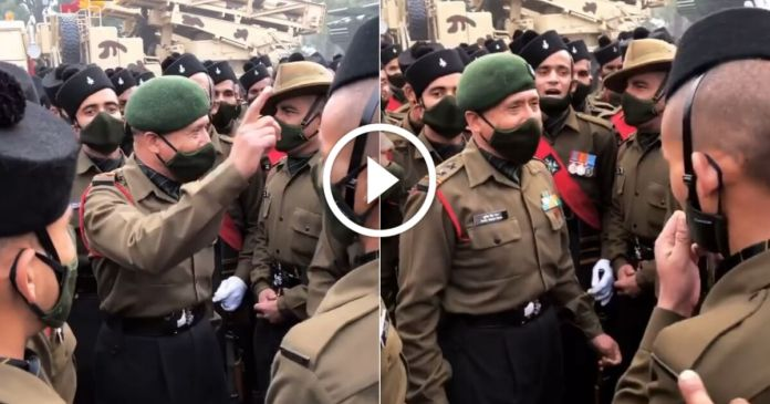Garhwal Rifles Republic day rehearsal video goes viral on internet