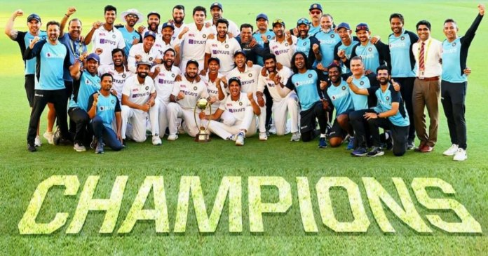 IND VS AUS: India clinch Australia Test series with historic win at Gabba