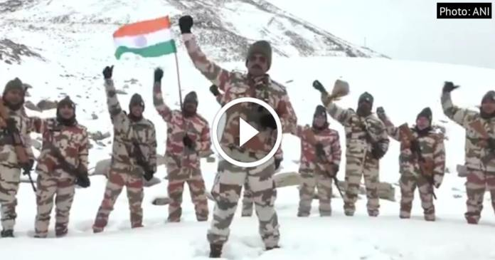 ITBP Republic Day Celebrations video goes viral on Internet