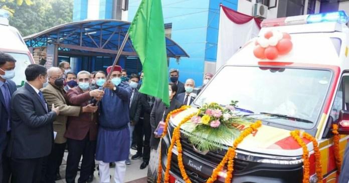 Emergency medical service strengthened in Uttarakhand, 132 new 108 ambulances