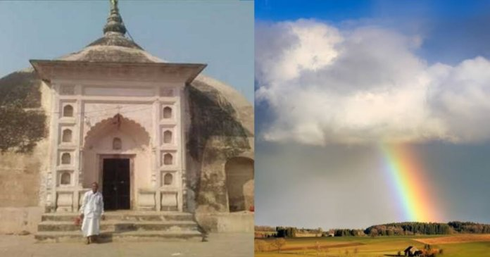 Meteorological Department of India even scientists could not know the secret behind this temple