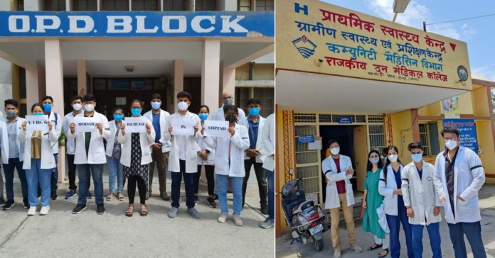 Frontline Workers : Uttarakhand Covid duty, Trainee doctors wages less than labourers