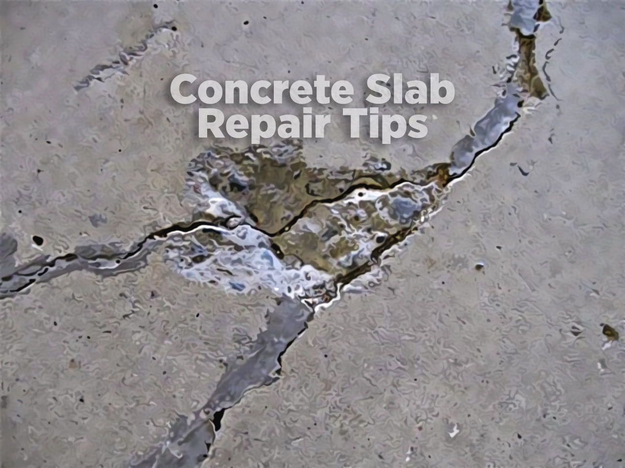 concrete slab repair tips white cap news