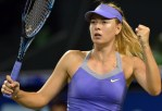 Russian tennis star Maria Sharapova back on court for charity match