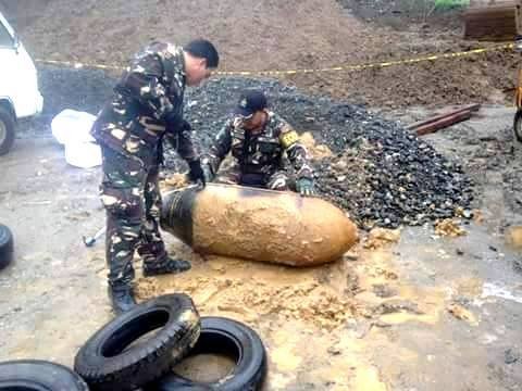 M64 500 pounder World War II active bomb