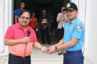 Surigao Mayor Nitoy Donated motorcycle patrol