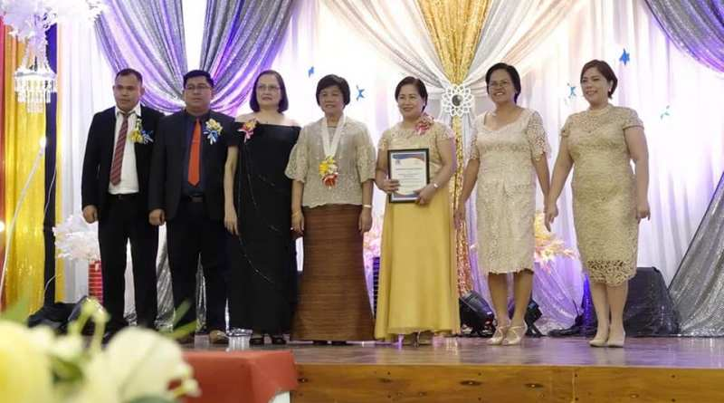 The awardees from Surigao del Norte