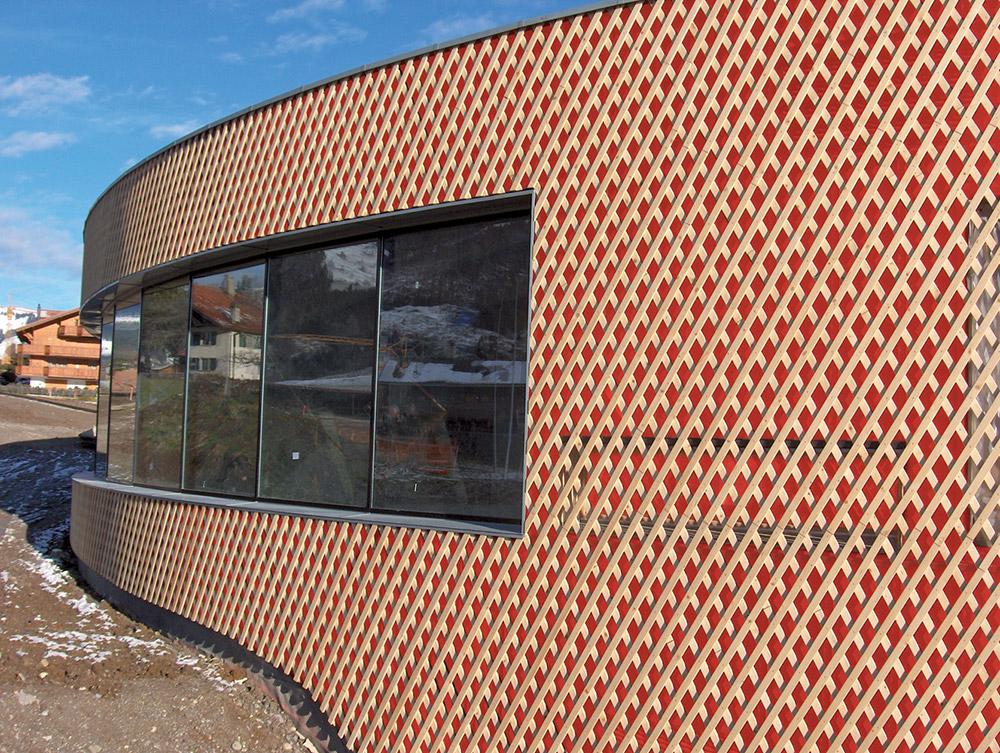 Moderne Fassade wie sie farbe in die fassade bringen würth österreich
