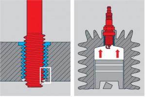 Einfache Gewindereparatur bei Metrischen Gewinden und UNC-Gewinden - Schritt 6