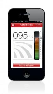 Gehörschutz-App für Smartphones
