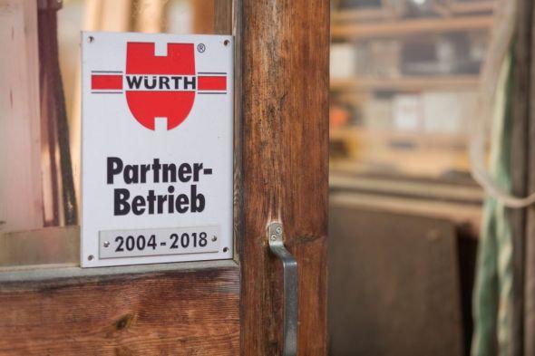 Würth Partnerbetrieb