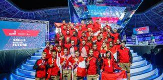 Triumpf in rot-weiß-rot für das Team Austria in Kazan.